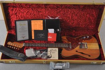 Fender Custom Shop Artisan Koa Thinline Telecaster® NOS - View 2
