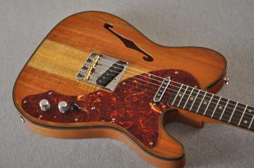 Fender Custom Shop Artisan Koa Thinline Telecaster® NOS  - View 11