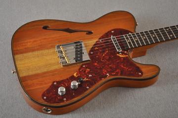 Fender Custom Shop Artisan Koa Thinline Telecaster® NOS