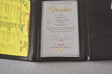 Fender Telecaster Custom Relic Limited Edition CuNiFe Humbucker - View 3