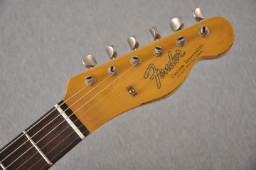 Fender 1964 Telecaster Custom Shop Heavy Relic Blue Ice Metallic - View 4