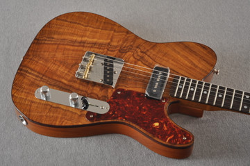 Fender Custom Shop Telecaster Artisan Koa P90 Chambered Body - View 10