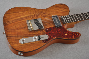 Fender Custom Shop Telecaster Artisan Koa P90 Chambered Body