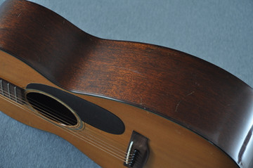 1955 Martin 0-18 Vintage Acoustic Guitar #143936 - Treble Side