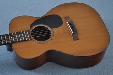 1955 Martin 0-18 Vintage Acoustic Guitar #143936 - Reverse Top