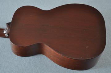 1955 Martin 0-18 Vintage Acoustic Guitar #143936 - Back Angle