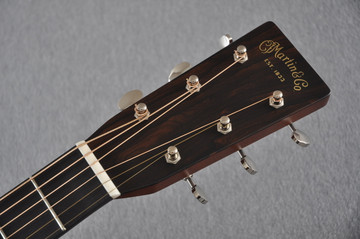 Martin Custom Shop D-28 (2017) Ziricote Rosewood Dreadnought Acoustic Guitar #2142391 - Headstock