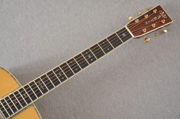 Martin OM-42 Standard Acoustic Guitar #2266329 - Neck