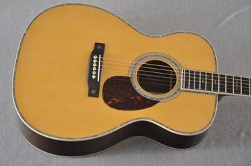 Martin OM-42 Standard Acoustic Guitar #2266329 - Top
