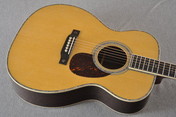 Martin OM-42 Standard Acoustic Guitar #2266329 - Top Angle