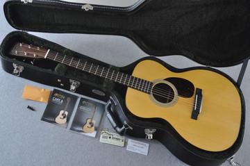Martin OM-21 (2018) Natural Acoustic Guitar #2149340 - Case