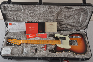 Fender Ultra Telecaster Guitar - Maple Fingerboard - Ultraburst - View 2
