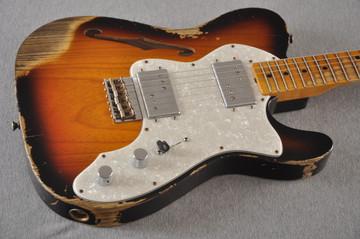 Fender Telecaster Thinline '72 Heavy Relic Sunburst Ltd Edition