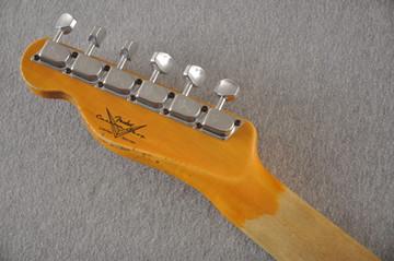 Fender Telecaster Thinline '72 Heavy Relic Sunburst Ltd Edition - View 7