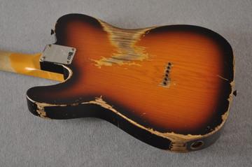 Fender Telecaster Thinline '72 Heavy Relic Sunburst Ltd Edition - View 6