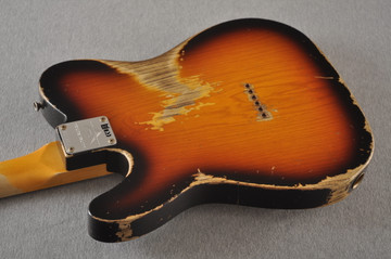 Fender Telecaster Thinline '72 Heavy Relic Sunburst Ltd Edition - View 11