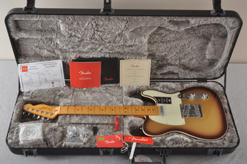 Fender American Ultra Telecaster Electric Guitar - Mocha Burst - View 2