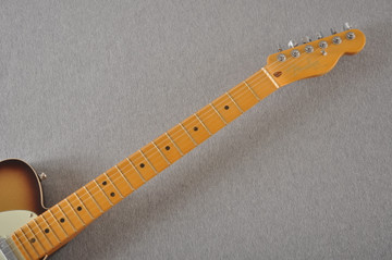 Fender American Ultra Telecaster Electric Guitar - Mocha Burst - View 6