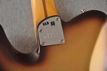Fender American Ultra Telecaster Electric Guitar - Mocha Burst - View 9