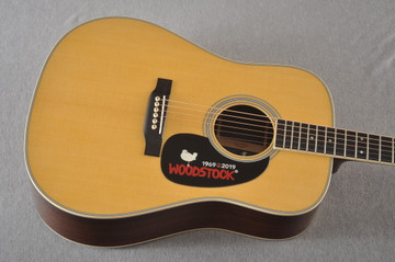 Martin D-35 Woodstock 50th Anniversary Acoustic Guitar #2272407 - Top