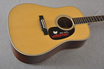 Martin D-35 Woodstock 50th Anniversary Acoustic Guitar #2272407 = Beauty