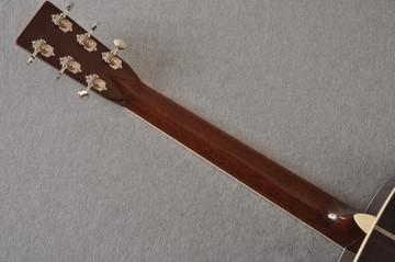 Martin Custom Style 42 OM Adirondack Ambertone #2260979 - Back Neck