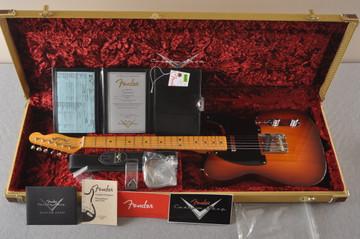 Fender Nocaster Custom Shop 51 NOS Tobacco Sunburst 7 lbs 3.5 ozs - View 2