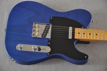Fender Nocaster Custom Shop 51 NOS - Cobalt Blue - 6 lbs 13.9 ozs - View 11