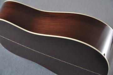 Martin Custom Madagascar Dreadnought Style 28 Acoustic #2142393 - Side