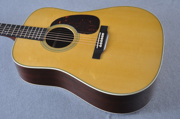 Martin Custom Madagascar Dreadnought Style 28 Acoustic #2142393 - Reverse