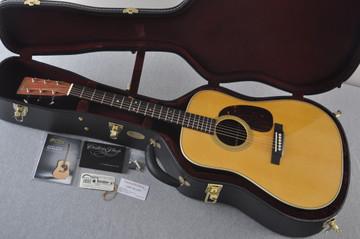 Martin Custom Madagascar Dreadnought Style 28 Acoustic #2142393 - Case