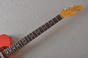 Fender Custom Shop '60s Telecaster Thinline Relic - Fiesta Red - View 7