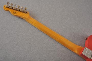 Fender Custom Shop '60s Telecaster Thinline Relic - Fiesta Red - View 9