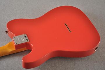 Fender Custom Shop '60s Telecaster Thinline Relic - Fiesta Red - View 10