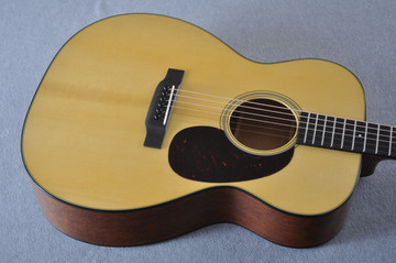 Martin Custom Shop 000-18 Adirondack Spruce Top Acoustic Guitar #2164201 - Top Angle