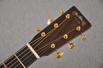 Martin D-18 Modern Deluxe Acoustic Guitar #2272458 - Headstock
