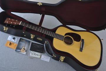 Martin Custom Shop D-18 Adirondack Spruce Acoustic Guitar #2164203 - Case