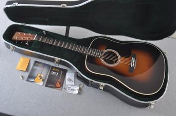 Martin HD-28 Sunburst Standard Dreadnought Acoustic #2253489 - Case