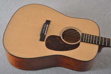 Martin D-18 Modern Deluxe Acoustic Guitar #2255383 - Top Angle