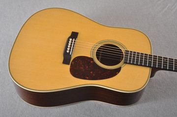 Martin HD-28 Dreadnought Acoustic Guitar #2276884 - Top Angle