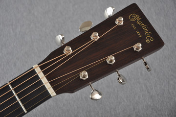 Martin Custom Shop 0-18 Adirondack Spruce Ambertone Acoustic Guitar #2166928 - Headstock