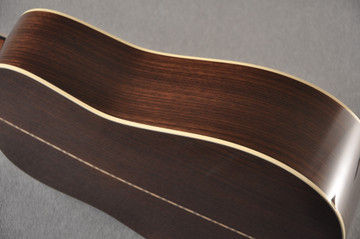 Martin D-28 Ambertone Standard Dreadnaught Guitar #2255666 - Side