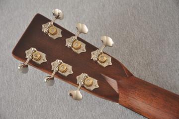 Martin D-28 Ambertone Standard Dreadnaught Guitar #2255666 - Back Headstock