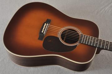 Martin D-28 Ambertone Standard Dreadnaught Guitar #2255666 - Top Angle