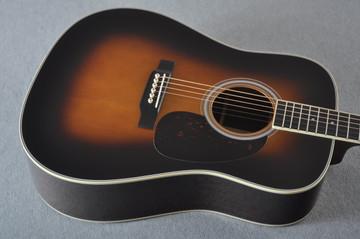 Martin D-35 (2018) 1935 Sunburst Standard Acoustic Guitar #2171323 - Top Angle