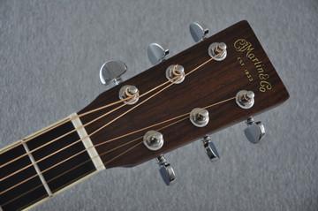 Martin D-35 (2018) 1935 Sunburst Standard Acoustic Guitar #2171323 - Headstock