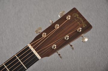 Martin Custom OM Style 18 Adirondack Tamo Ash #2305145 - Headstock