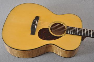 Martin Custom OM Style 18 Adirondack Tamo Ash #2305145 - Top Angle