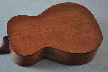 Martin Custom Shop 0-18 Adirondack Spruce Sunburst Guitar #2186826 - Back Angle