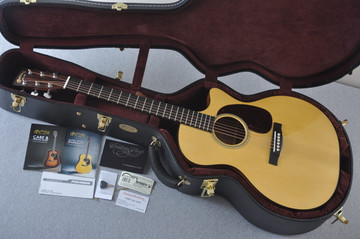 Martin Custom Shop GPCPA4 Adirondack #2193584 - Case